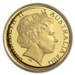Royal Australian Mint 2011 1/10 oz Gold Proof - Kangaroo